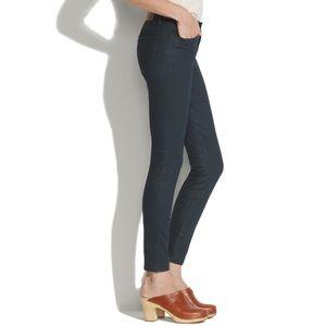 Madewell Skinny Skinny Black Coated Jeans 32 x 32